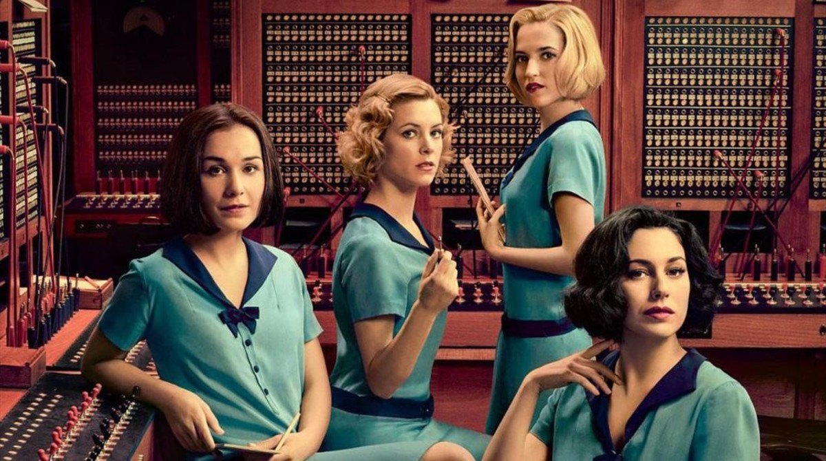 Lovely Lashes y Las Chicas del Cable para Netflix