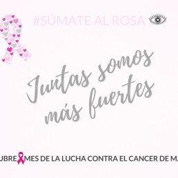 mes de la lucha contra el cancer de mama
