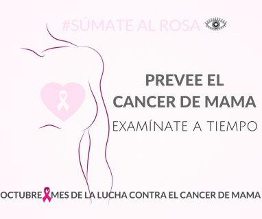 mes contra el cancer de mama