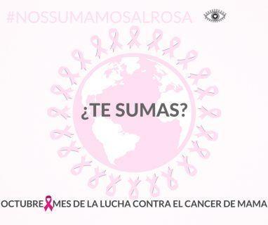 octubre, mes contra el cáncer de mama