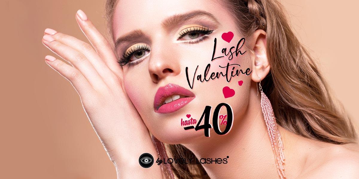 Oferta en Extensiones de Pestañas San Valentín
