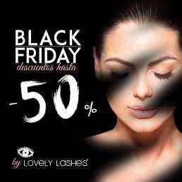 Black Friday en Lovely Lashes