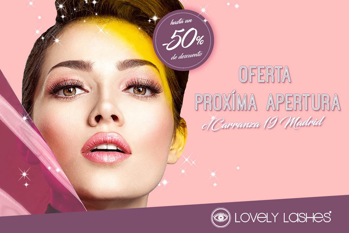 Oferta por Apertura en Lovely Lashes Carranza | Hasta -50% en servicios